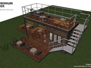Cafenea Modulară cu extensii laterale. Proiect la Cheie.