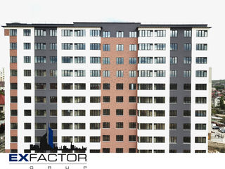Exfactor Grup -Buiucani-1 odaie - 43m2 -doar 6954 euro,prima rata!!
