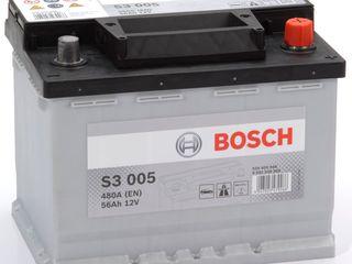 Acumulator Bosch 12v 56ah, Garantie 24 Luni!!!