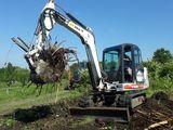Prestam servicii cu excavator,transeekapateli,ciocan hidraulic, demontam betonul si asfaltul.