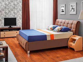 Dormitor Ambianta Samba Brown 1600 mm Preț avantajos! Posibil și în credit!