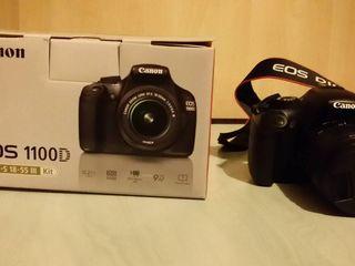 Фотокамера зеркальная Canon EOS 1100D KIT, EF-S 18-55