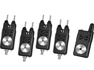 Электронные сигнализаторы поклевки с пейджером FA 214 2+1    FA214 3+1    FA214 4+1    FA214 5+1