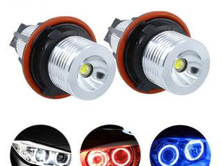 LED Marker, Angel Eyes, Ангельские глазки 6500K 10W