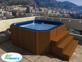 Мини бассейн джакузи круглые ванны