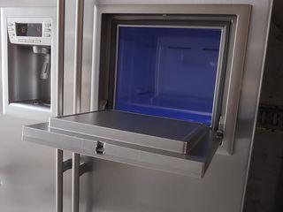 Вместительный холодильник beko большая морозилка.
