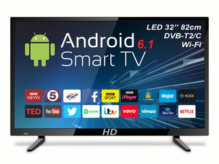 TV HD 32'' LED Smart-TV DVB-T2/C 200Hz 2799 lei