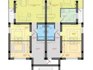 Клубный дом на 8 квартир. 1 m2. 600 euro.