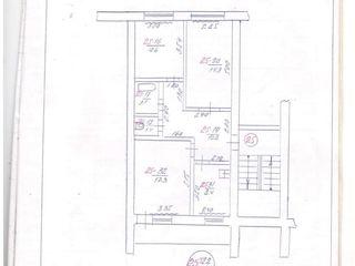 Продам 3-ох комнатную квартиру г. Окница