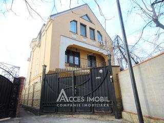Chirie! Casa în 3 nivele! str. Vasile Lupu, Buiucani, 250m2! Euroreparație!