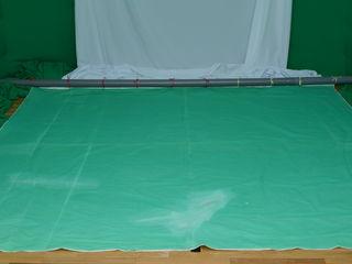 Fon verde 3x3 m.