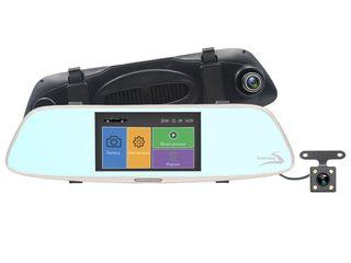 Акция!Новыйе Зеркало- Видеорегистраторы  с -2 камерами. Доставка бесплатная!Кредит!