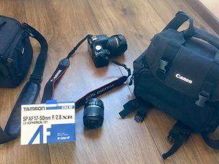 Canon EOS 500D, se vinde cu tot echipamentul din imagini...