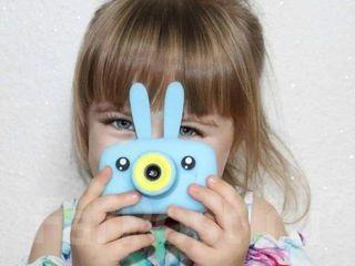 Детский цифровой фотоаппарат Childrens Fun Camera Kitty