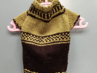 """Мастерская зоосалона """" Мистер Дог""""предлагает трикотажные свитера и кофты для собак и кошек от 130 л."""