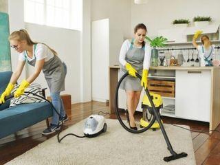 Генеральная и влажная уборка. Curățenie calitativă în apartamente, case, vile, oficii!  (уборка)