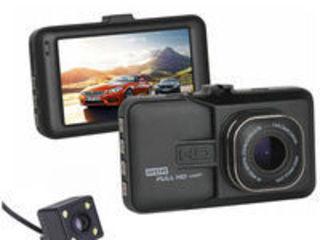 Видеорегистратор dvr carcam z 26 на две камеры novatek full hd wdr. credit!