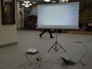 Arenda videoproiectare pentru evenimente corporative