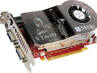 Видеокарты, Nvidia, Radeon, NX 8600, GF 210, GF 9800, GT 620 2 GB VGA HDMI, отличное состояние