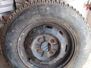 Запасное колесо - roata de rezerva  165 80 R13