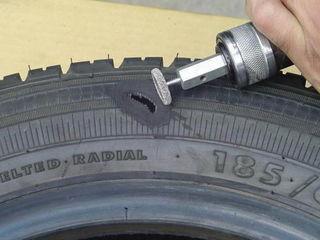 Сложный ремонт шин( боковых порезов и грыж)
