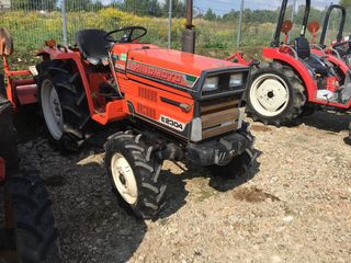 Se vinde tractor Hinomoto E2304 cu freza de sol