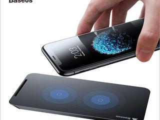 Incarcator fara fir qi wireless Xiaomi iPhone XS Max XS XR X 8 8 Plus Samsung s9 s8 S7 S6 Note 9 8 5