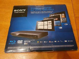 Продаю Новый Blu-ray/DVD  плеер SONY с функцией интернет серфинга