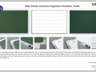 Table scolare magnetice rotative aviziere flipcharturi. школьные доски для мела и маркера!