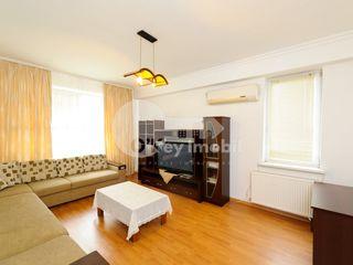 Apartament 3 camere, euroreparație, bloc nou, Râșcani, 350 €