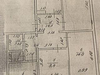 в г. Вулканешты продается 4-х комнатная квартира по ул.Ленина 105 на 2 этаже 4-х этажного дома