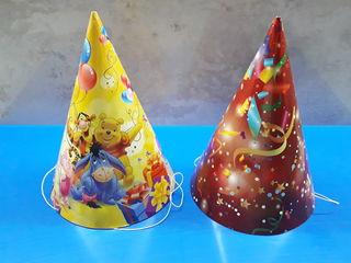 Conuri, fluiere si baloane pentru copii