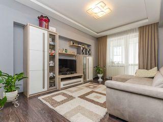 Botanica, vânzare, apartament cu 3 odăi și living, bloc nou, complet renovat