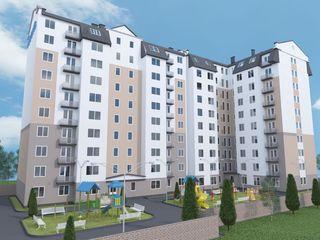 Spre vînzare apartament cu 2 camere și living în variantă albă - 69 mp!