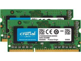 SODIMM  DDR3 1600  Crucial 32Mb (2x16) - 160$