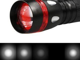 Яркий компактный фонарь SkyWolfEye XPE LED 18650 !
