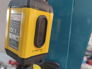 Laser nivelir,nivela trotec лазерный уровень, дальномер