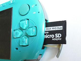 Адаптер MicroSD в memory stick Pro Duo