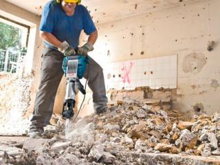 Аренда отбойного молотка.     бетономешалки.  бензобура и перфоратора    строительного инструмента