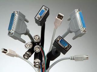 Кабеля power pc,notebook,com, printer,hdmi,vga, lan, sata, display port,aux