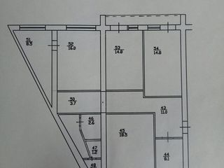 Продается 4-ком. квартира с уникальная планировка, для большой семьи