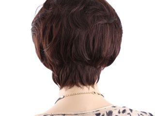 Парик с челкой. Длина волос 11 см