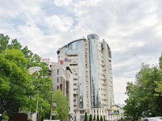 Bloc de elită! UltraCentru, str. A. Pușkin, 2 camere + living. Euroreparație+design!