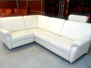 Canapea culoare Bej piele naturala