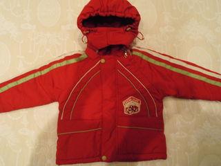 Куртки б/у на разный возраст - 100 - 300L комбинезон зимний 1-2 года - 200L