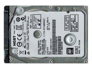 "Hdd HGST 320 GB, SATA, 2.5"", SLIM, для ноутбука     350 лей"