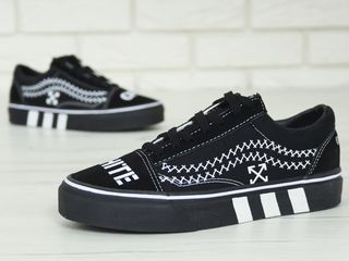 "Vans x Off-white ""Black"""