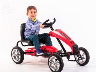 Carting electric pentru copii Dongma rosu