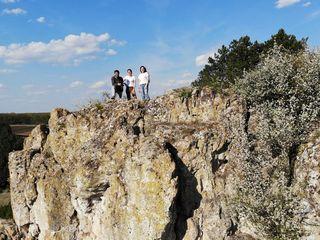 Восхождение на скалы старого Орхея.