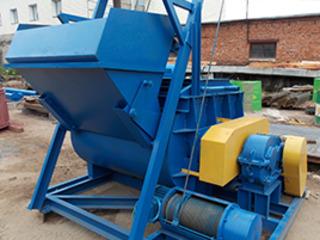 Мини бетонный завод РБУ-мини производительностью до 20 м/куб час.